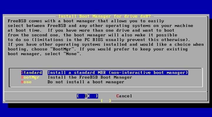 Управление загрузчиком FreeBSD