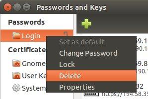 Unlock Login Keyring