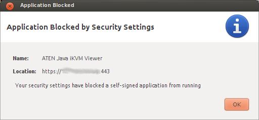 Ubuntu error java